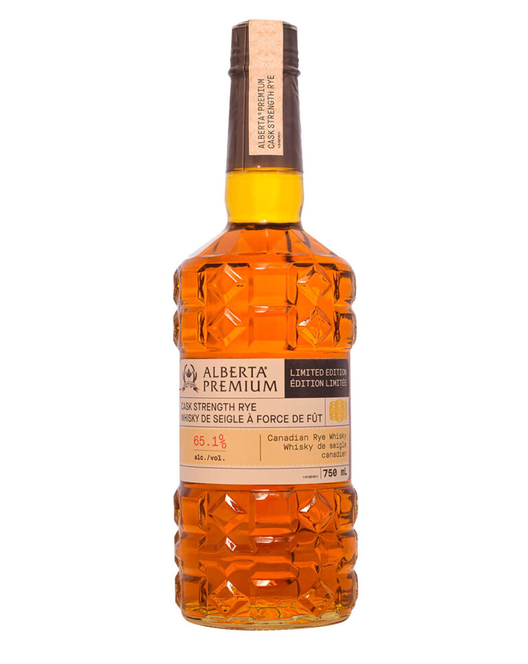 Alberta Premium Cask Strength Rye Canadian Whisky Musthave Malts MHM