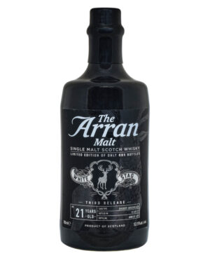 Arran 21 Years Old White Stagg Third Release 2017 Musthave Malts MHM