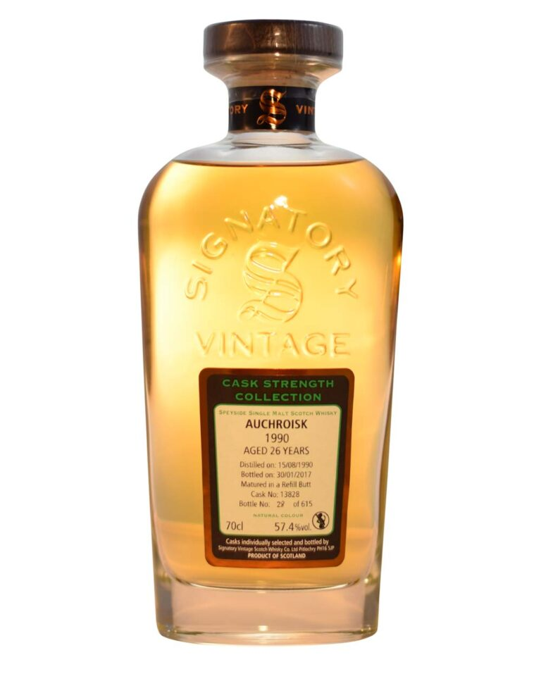 Auchroisk 1990 26 Years Old Signatory Vintage Musthave Malts MHM