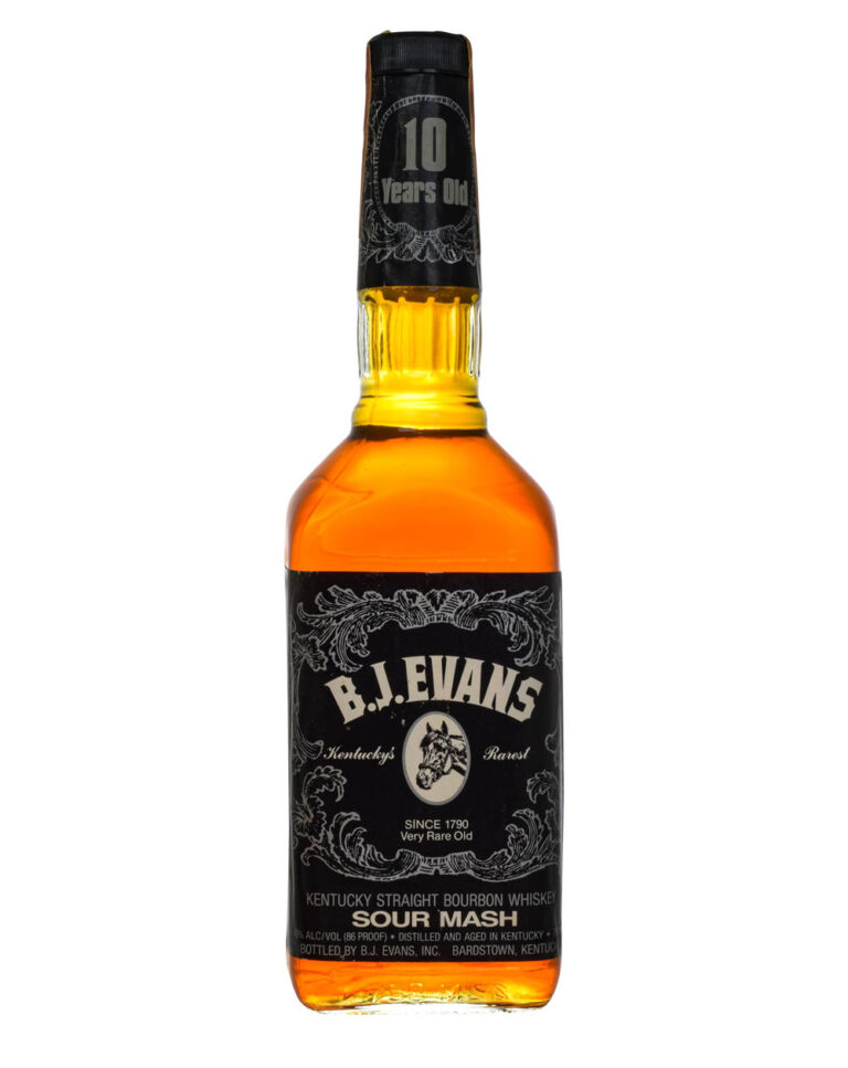 B.J. Evans 10 Years Old 1989 Sour Mash Japanese Export Musthave Malts MHM