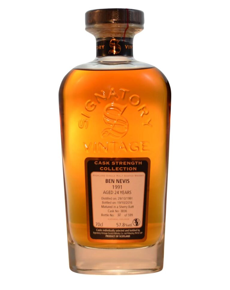 Ben Nevis 1991 - 24 Years Old Signatory Vintage Musthave Malts MHM