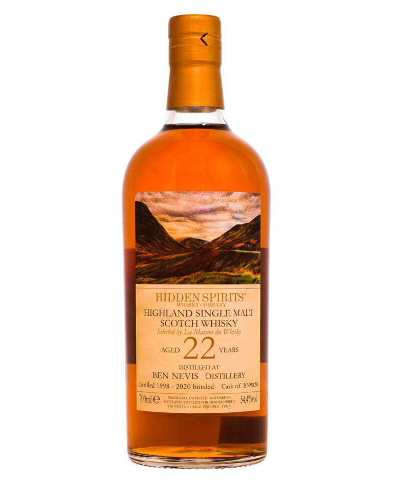 Ben Nevis 22 Years Old 1998 Hidden Spirits Whisky Company Musthave Malts MHM