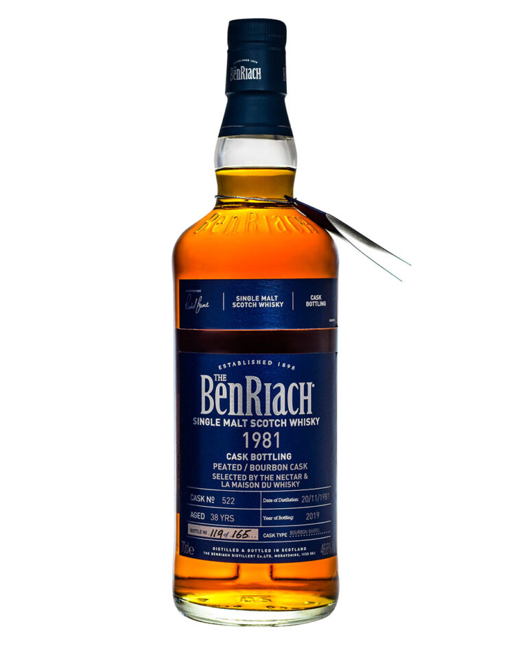 Benriach 1981 Cask Edition 38 Years Musthave Malts MHM