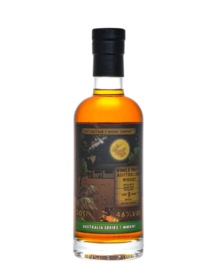 Black Gate Australian Whisky 3 Years Old TBWC Batch 1 Musthave Malts MHM