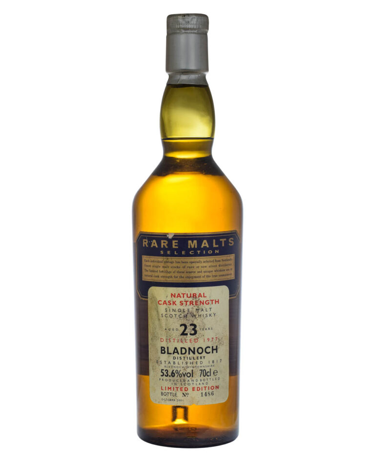 Bladnoch 1977 Rare Malts Collection 23 Years Old W. Box Musthave Malts MHM