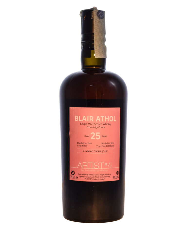 Blair Athol - Artist #4 25 Years Old) Front Musthave Malts