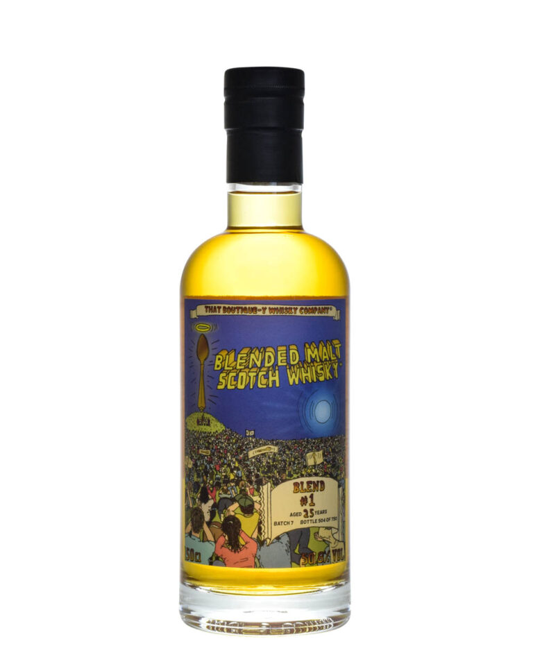 Blended Malt Scotch Whisky Blend #1 25 Years Old TBC Batch 7 Musthave Malts MHM