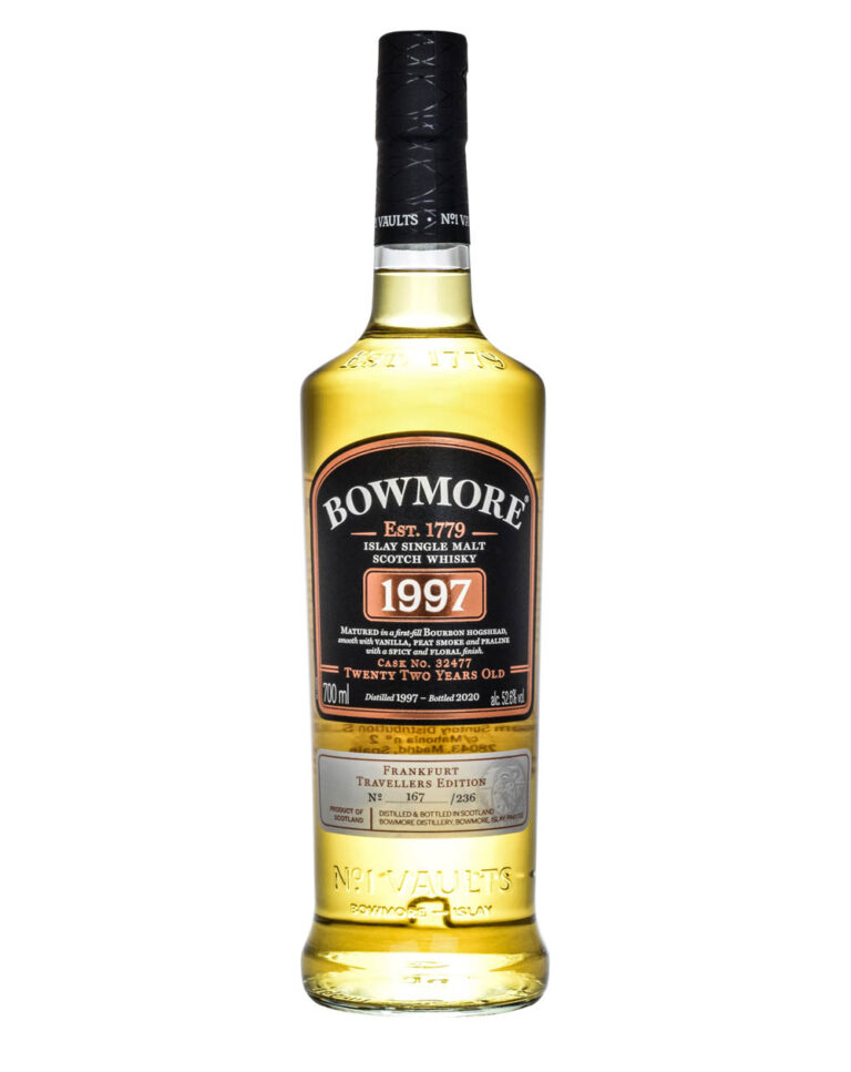 Bowmore 22 Years Old Frankfurt Travaler's Edition 1997 Musthave Malts MHM