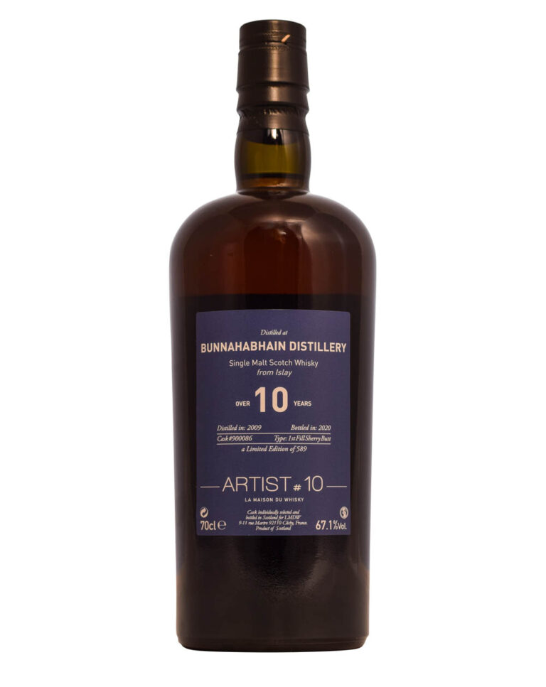 Bunnahabhain 2009 - LMDW Artist #10 (10 Years Old) Front Musthave Malts MHM