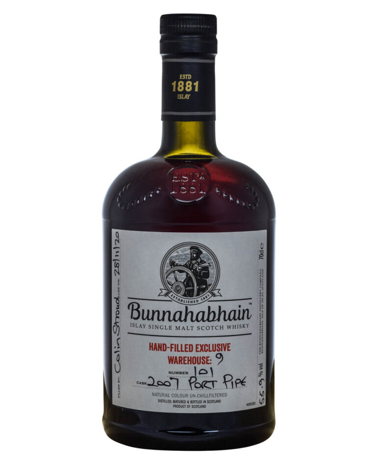 Bunnahabhain Hand-Filled Exclusive Warehouse 9 Port Pipe Satchel Musthave Malts MHM