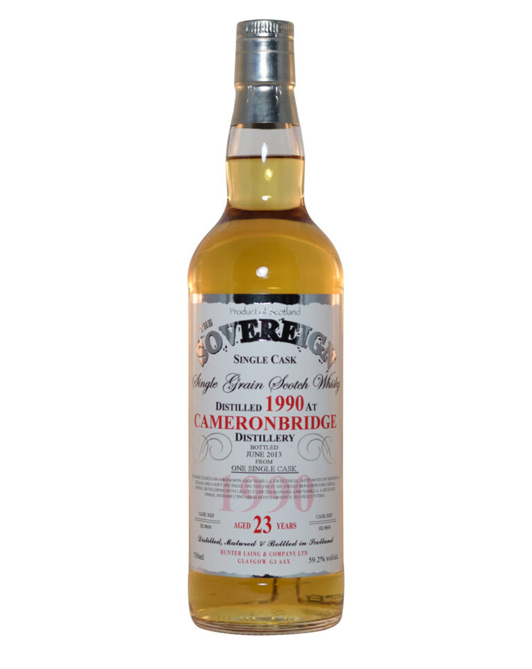Cameronbridge 1990 - The Sovereign Single Cask (23 Years Old) Musthave Malts MHM