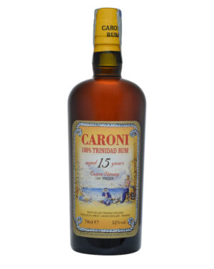 Caroni 15 Years Old 100% Trinidad Rum 104 Proof Musthave Malts MHM