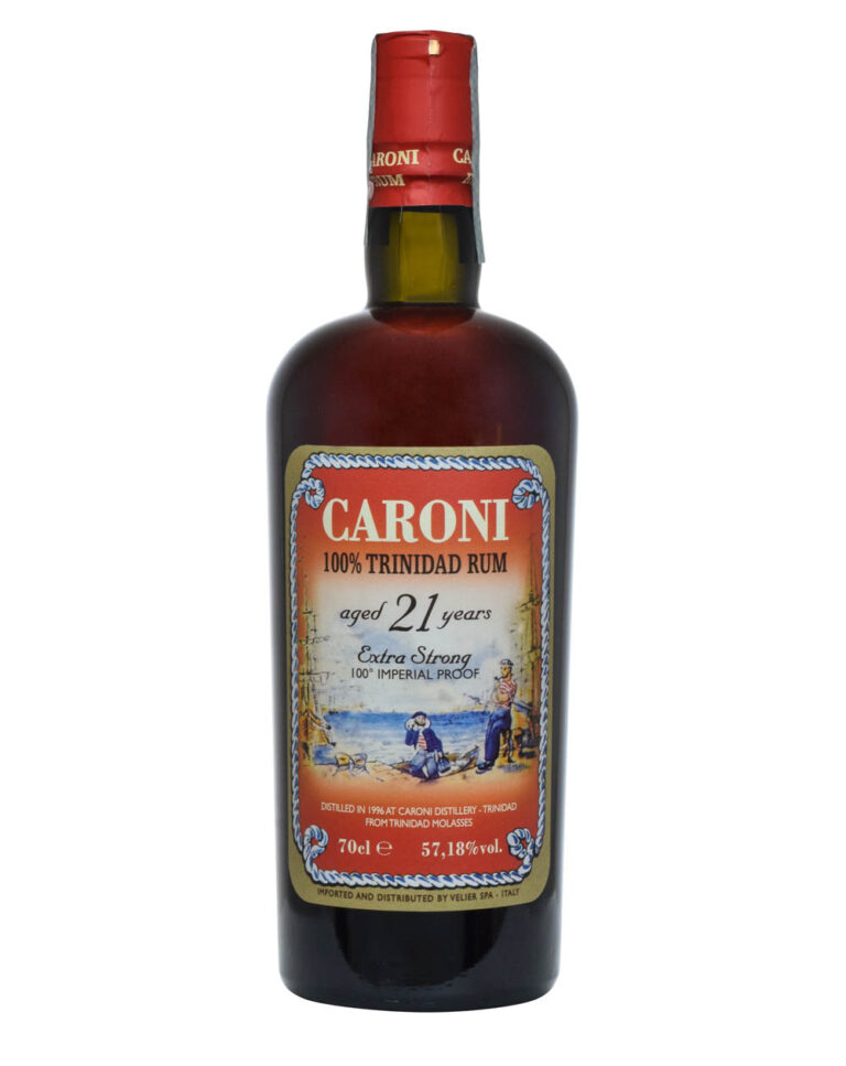 Caroni 21 Years Old 100% Trinidad Rum 100 Imperial Proof Musthave Malts MHM
