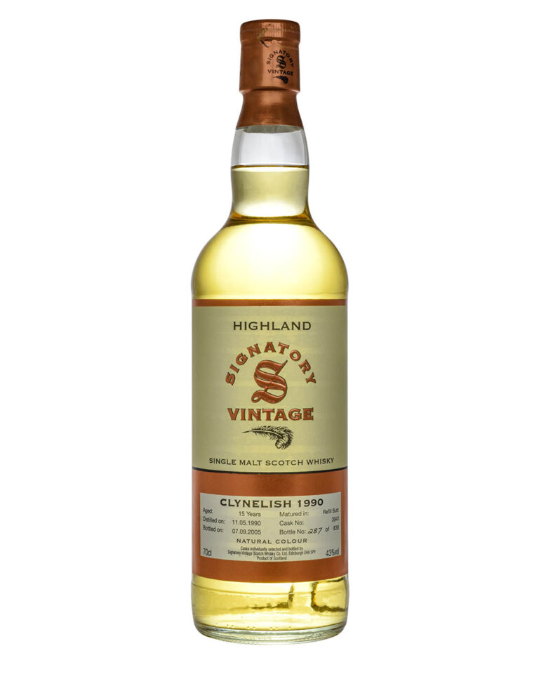 Clynelish 15 Years Old Signatory Vintage 1990 Musthave Malts MHM