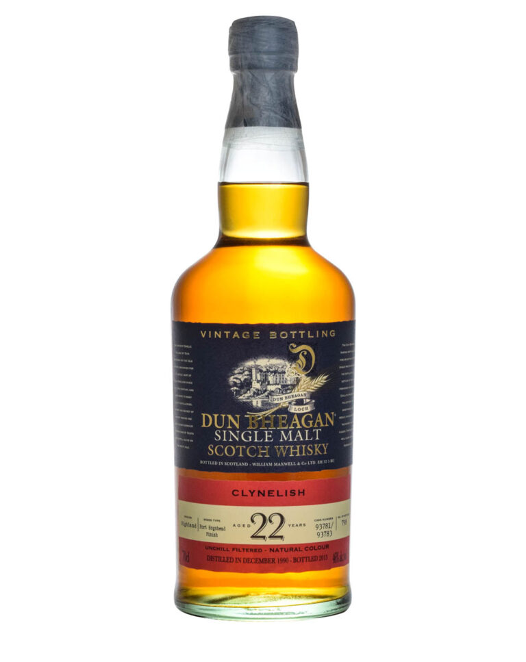 Clynelish 22 Years Old Dun Bheagan 1990 Musthave Malts MHM