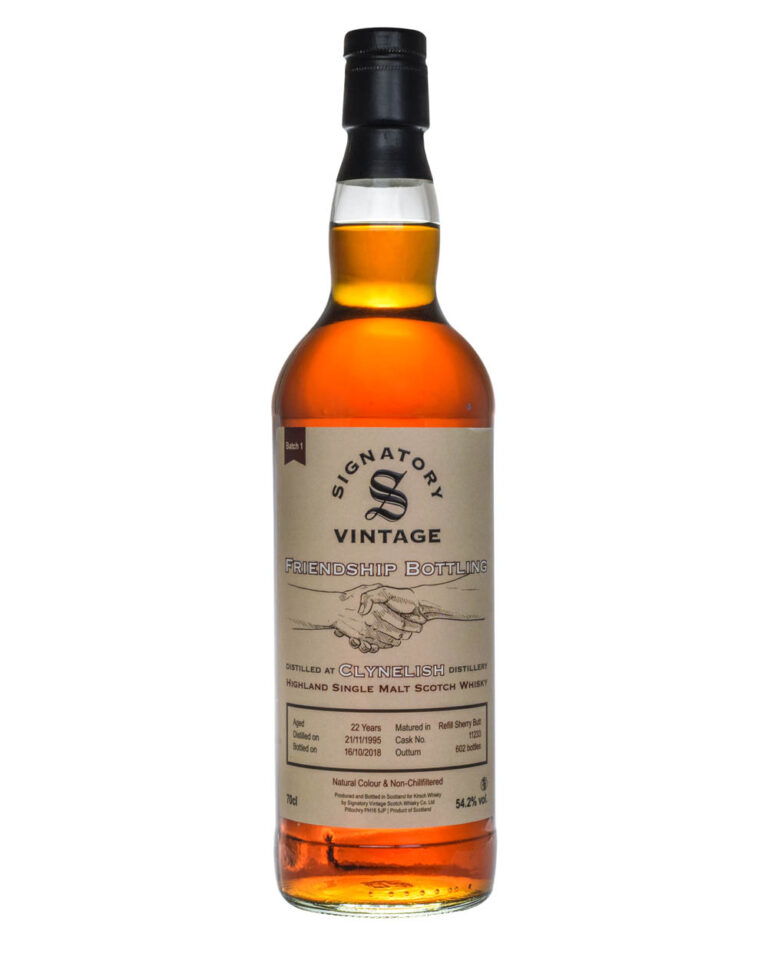Clynelish 22 Years Old Signatory Vintage Friendship Bottling 1995 Musthave Malts MHM
