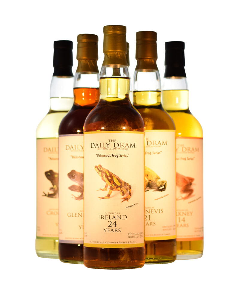 Daily Dram Poisonous Frog Series Whisky C Musthave Malts MHM