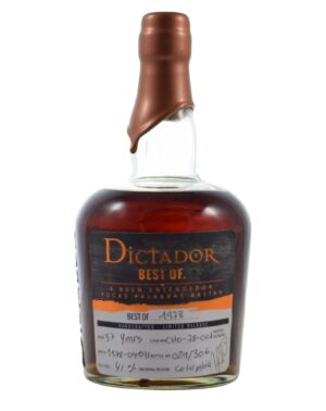 Dictador 1978 37 years 41% Musthave Malts MHM