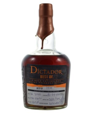 Dictador 1979 36 years 40,5% Musthave Malts MHM