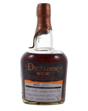 Dictador 1982 33 years 42% Musthave Malts MHM
