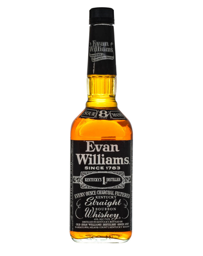 Evan Williams 8 Years Old 2000 Black Label Japanese Import Musthave Malts MHM