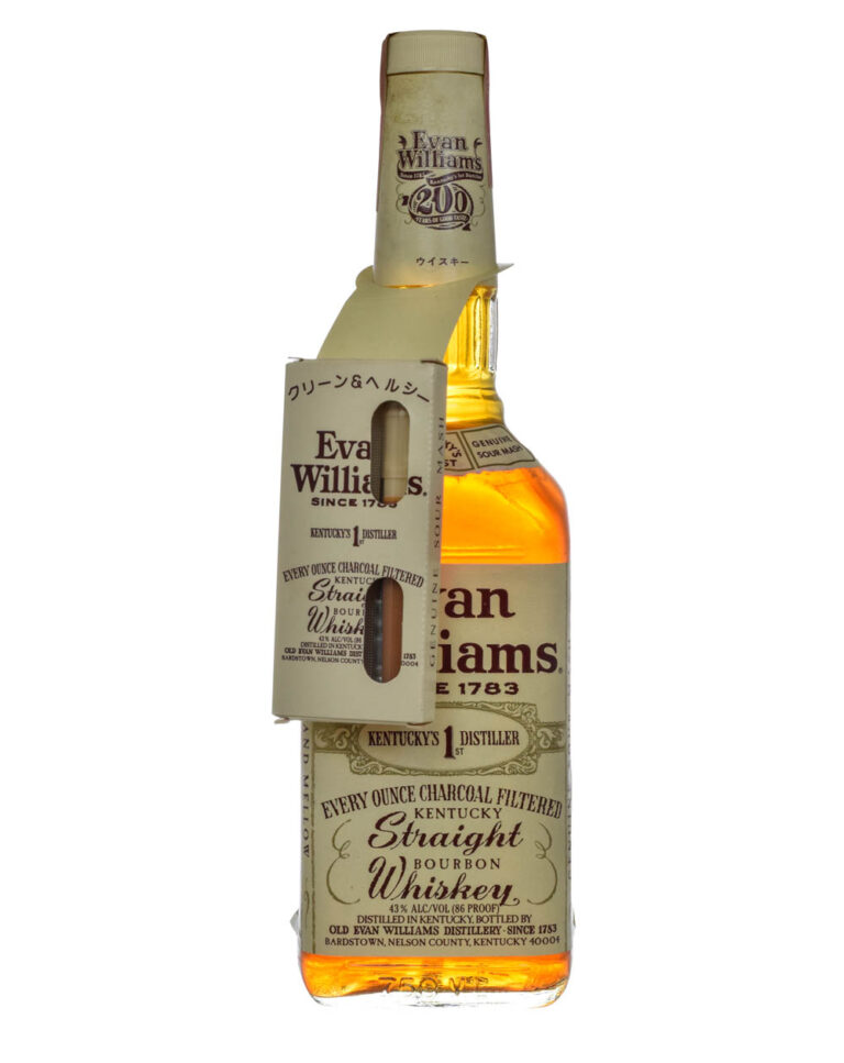 Evan Williams Kentucky Straight Bourbon Cigarette Pack Musthave Malts MHM