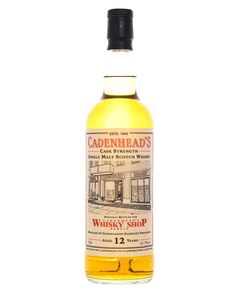Glenallachie 12 Years Old Cadenhead's Shop Berlin Musthave Malts MHM