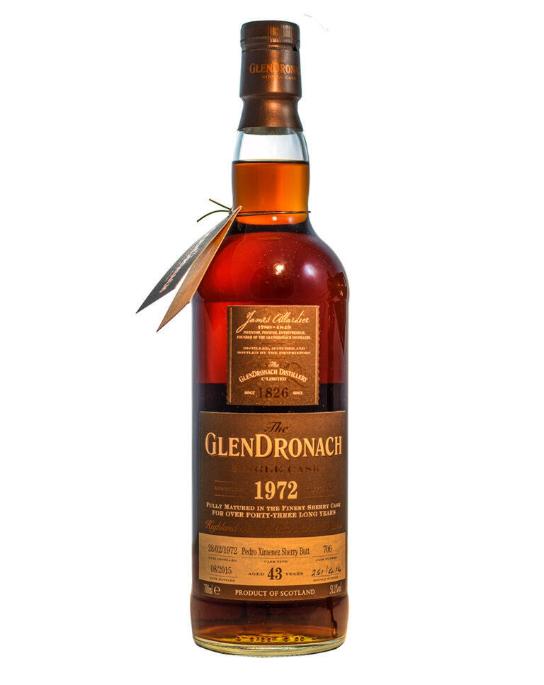 Glendronach 1972 Single Cask #706 (43 Years Old) Musthave Malts MHM