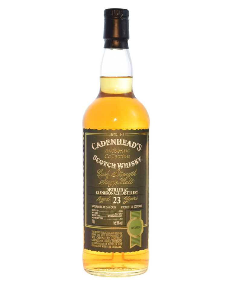 Glendronach 1990 Cadenhead (23 Years Old) Musthave Malts MHM