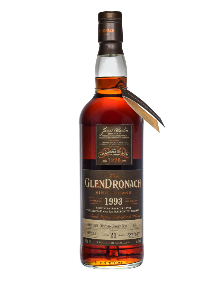 Glendronach 1993 Single Cask 21 Years Old Musthave Malts MHM