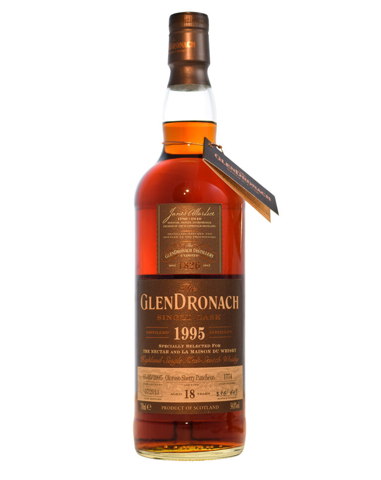 Glendronach 1995 Single Cask 1774 (18 Years Old) Musthave Malts MHM
