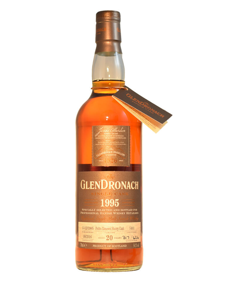Glendronach 1995 Single Cask #5401 (20 Years Old) Musthave Malts MHM