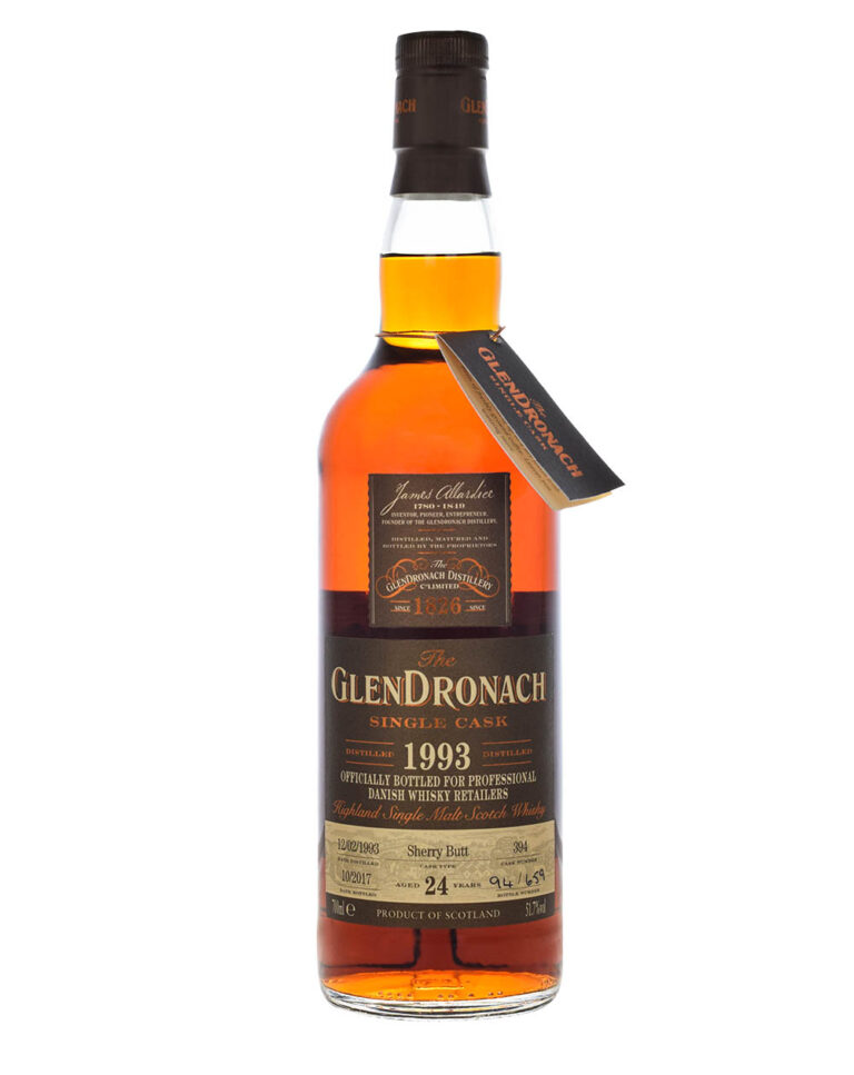 Glendronach 24 Years Old 1993 Cask #394 Musthave Malts MHM