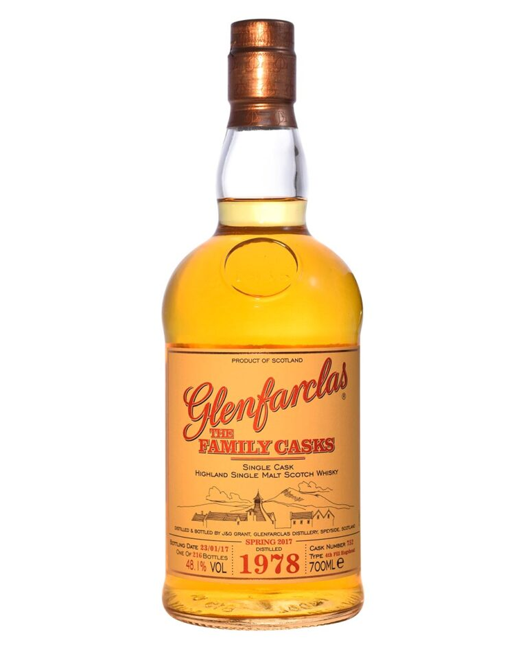 Glenfarclas 1978 The Family Cask #752 (38 Years Old) Musthave Malts MHM