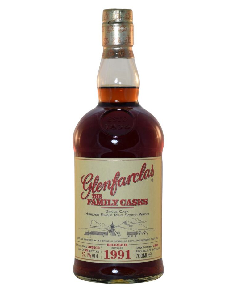 Glenfarclas 1991 The Family Cask (21 Years Old) Musthave Malts MHM