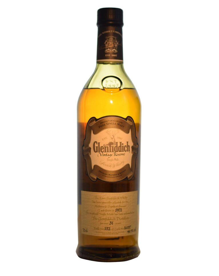 Glenfiddich 1972 Vintage Reserve (31 Years Old) Musthave Malts