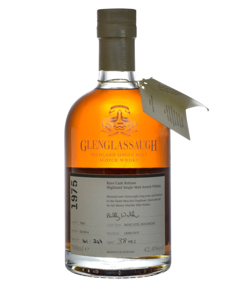 Glenglassaugh 38 Years Old 1975 Moscatel Hogshead Musthave Malts MHM
