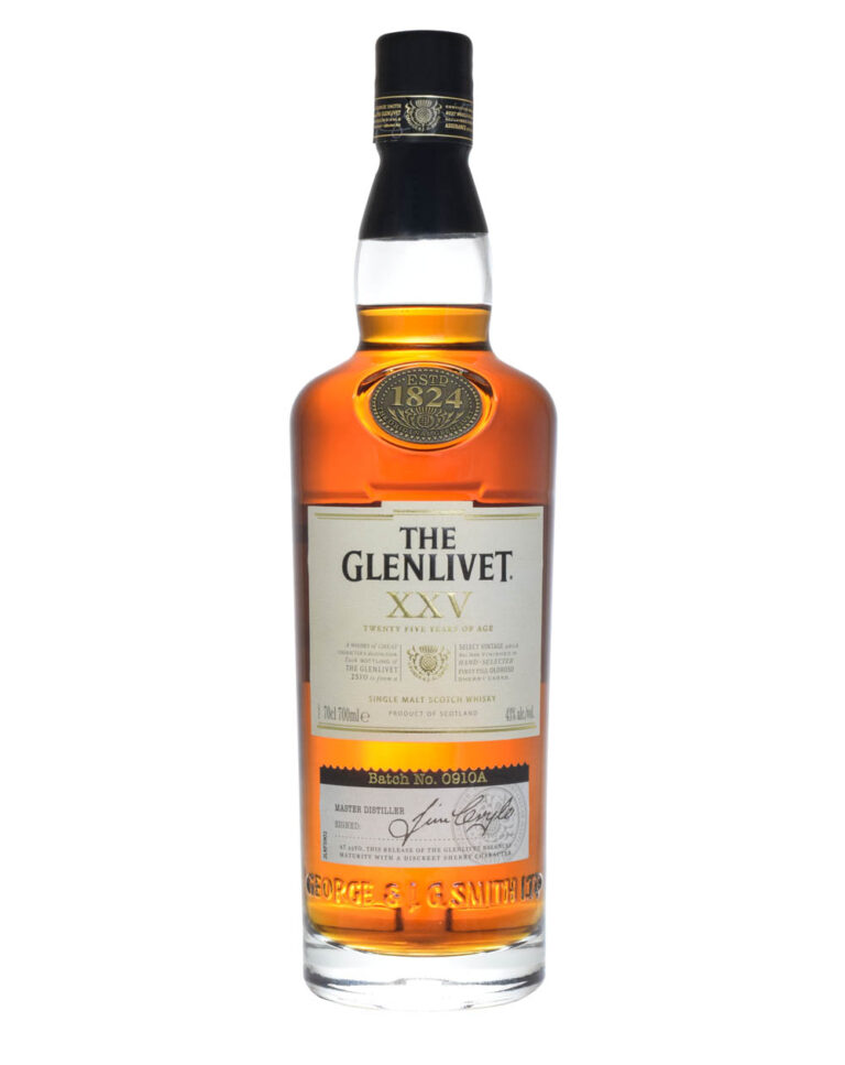 Glenlivet XXV 25 Years Old Batch 0910A Musthave Malts MHM