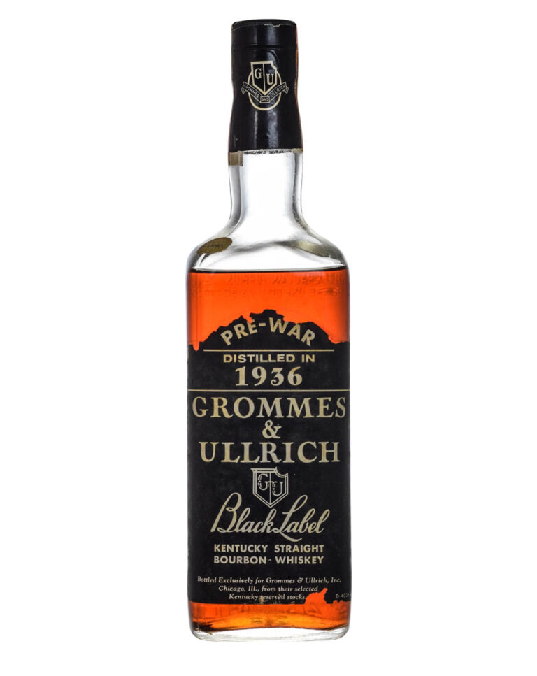 Grommes & Ullrich 1936 Black Label Front Low Musthave Malts MHM
