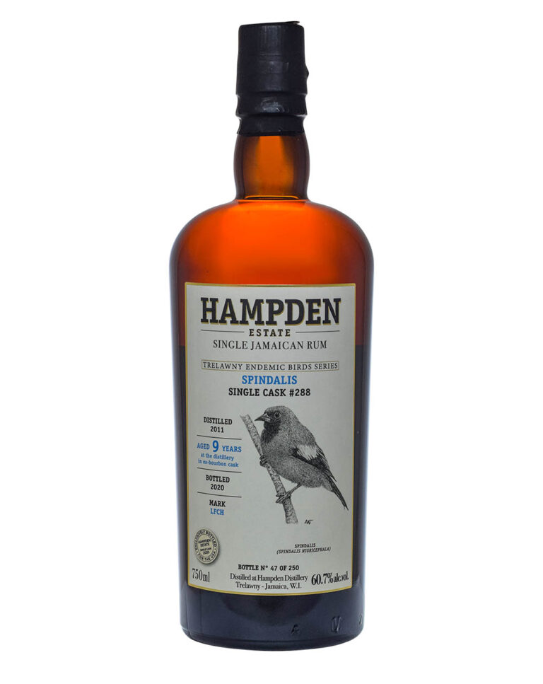 Hampden Bird Series Spindalis Cask 288 9 Years Old Musthave Malts MHM
