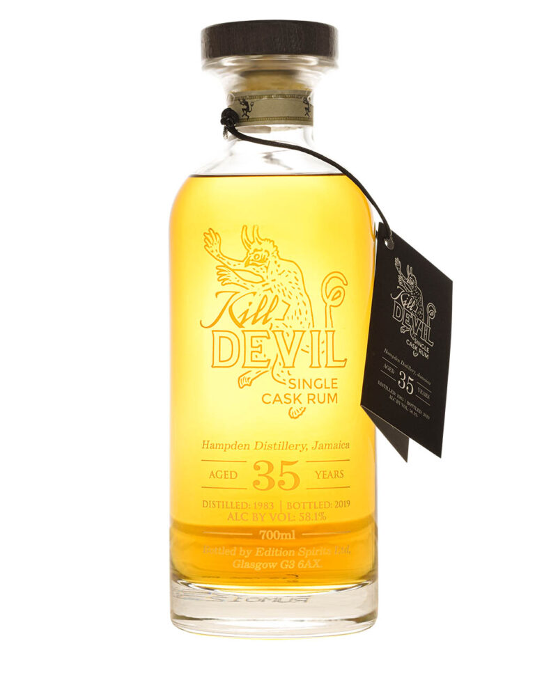 Hampden Kill Devil 35 Years Old Single Cask Rum Musthave Malts MHM