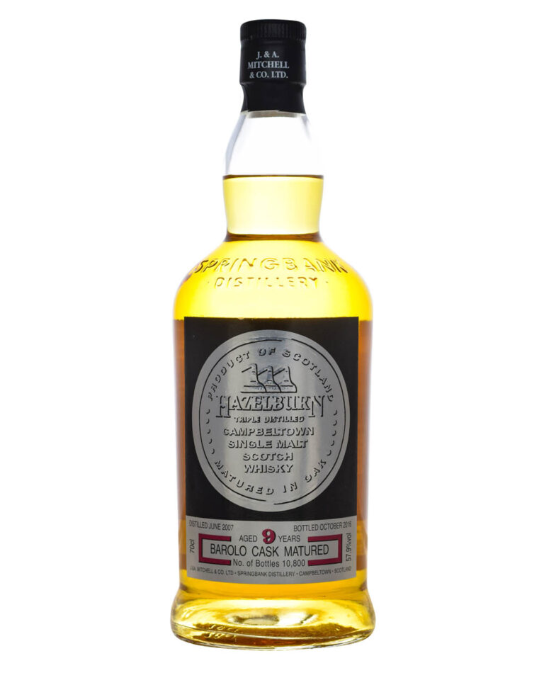 Hazelburn 9 Years Old Barolo Cask Musthave Malts MHM