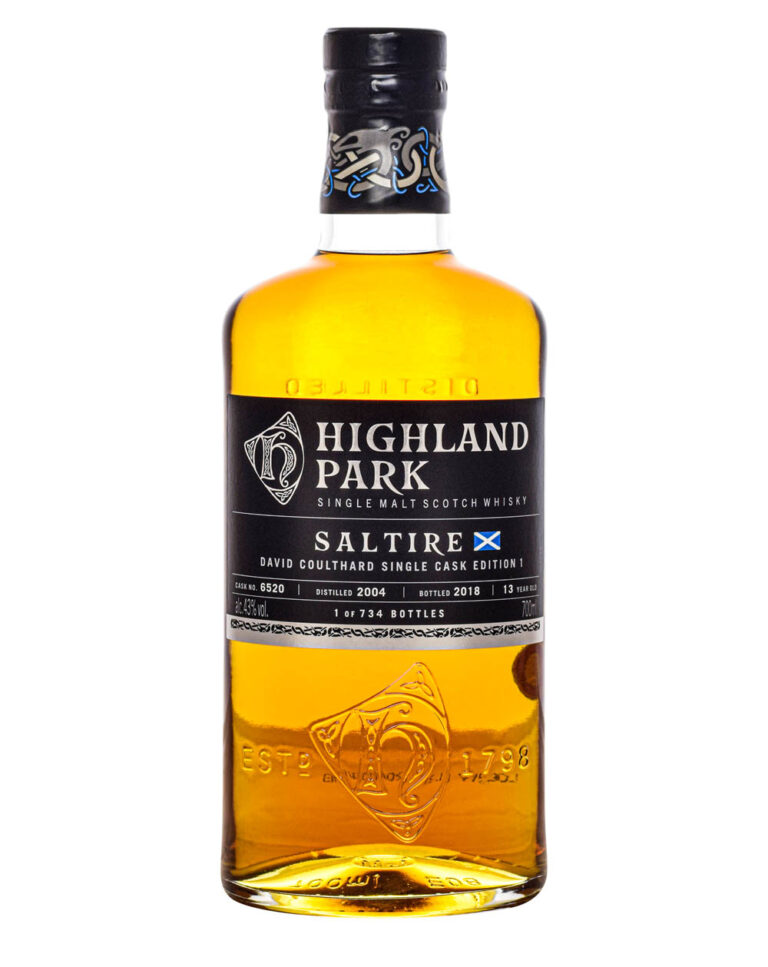 Highland Park 13 Years Old Saltire David Coulthard Edition 1 2018 Musthave Malts MHM