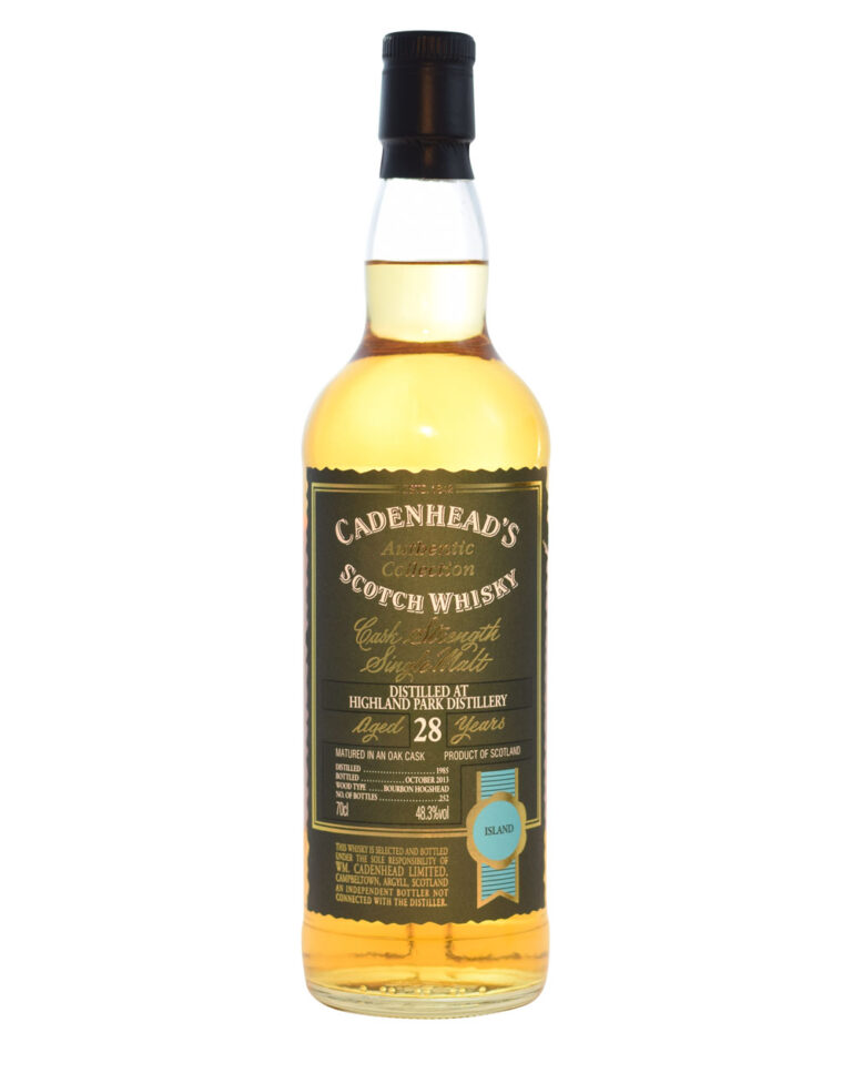 Highland Park 1985 Cadenhead (28 Years Old) Musthave Malts MHM