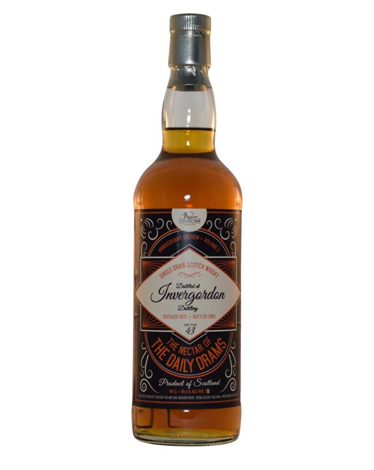 Invergordon 1972 - 2016 - The Nectar of the Daily Drams (43 Years Old) Musthave Malts MHM