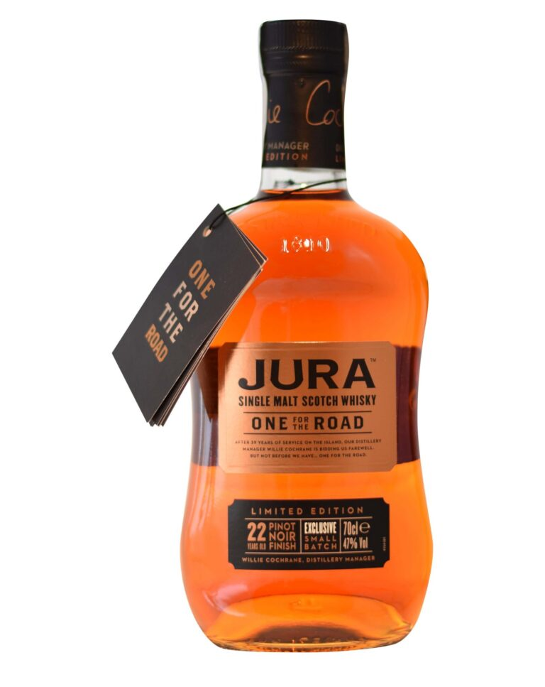 Jura Single Malt One for the Road 22 Years Pinot Noir Finish Musthave Malt