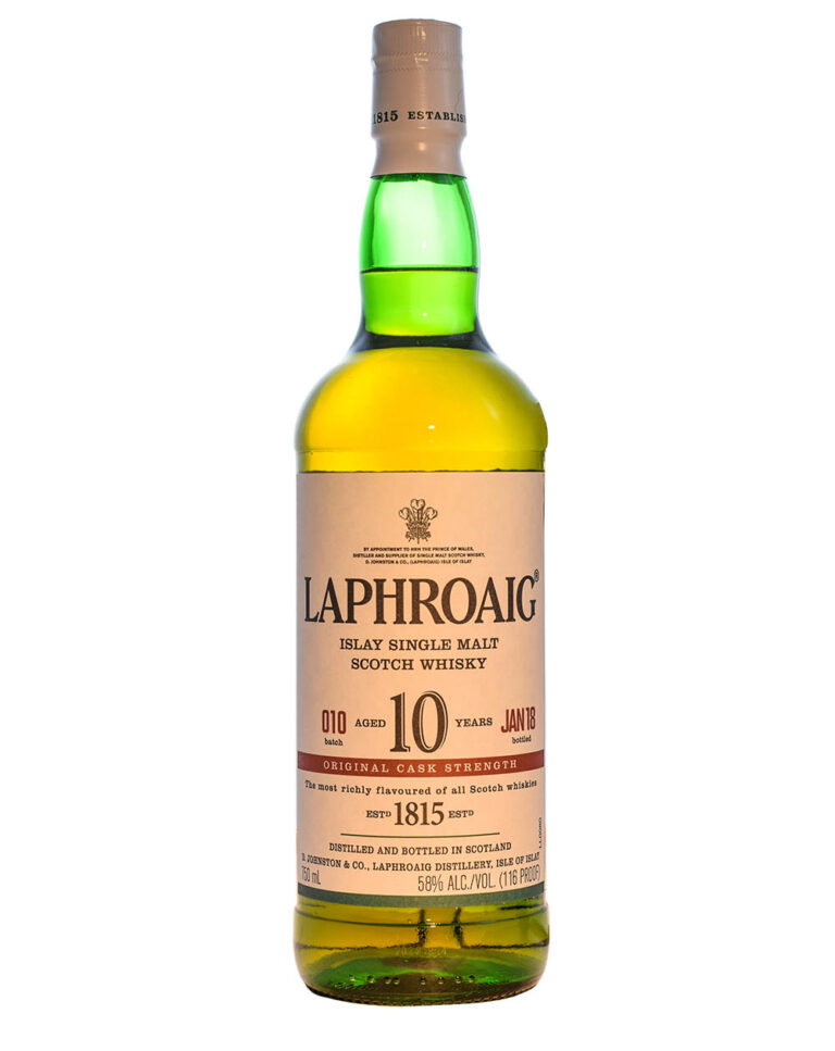 Laphroaig Cask Strength Batch 10 (10 Years Old) Musthave Malts MHM