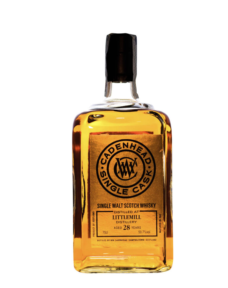 Littlemill 1990 Cadenhead (28 Years Old) Musthave Malts MHM