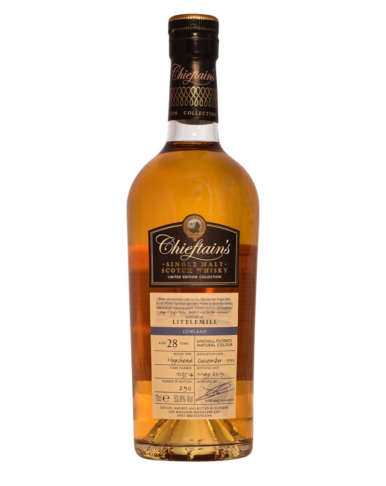 Littlemill 1990 Chieftain's (28 Years Old) Musthave Malts MHM