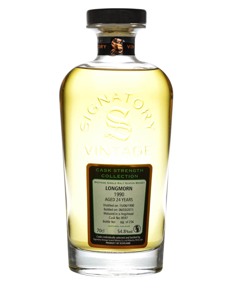 Longmorn 24 Years Old Signatory Vintage 1990 Musthave Malts MHM